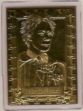 ROLANDA HOOCH 22kt Gold Danbury Mint Card - HARRY POTTER