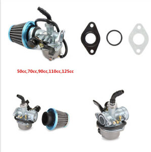 Motorcycle Carburector With Air Filter Fitting Most 70CC 90CC 110CC Chinese ATVs