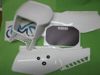 YAMAHA XT600 XT 600 2kf 2nf revestimiento cubierta lateral blanco