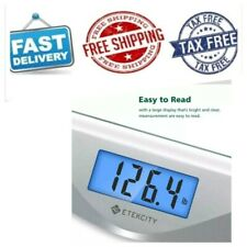 Etekcity Digital Body Weight Bathroom Scale With Tape Measure  Tempered Glass  4