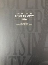 Super Junior Boys In City Paris Photobook + Postcard + Poster + DVD