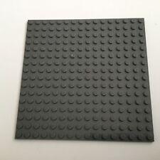 Lego Platte Bauplatte 16x16 neu-dunkelgrau NEU 91405 beidseitig bebaubar