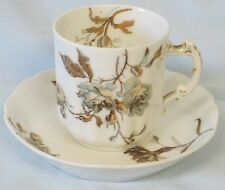 Haviland Limoges France Floral Rosed Vintage Cup & Saucer Demitasse