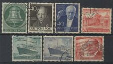 West Berlin 1951-56 Used Selection x7 (Id:455/D6086)