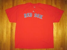 Big & Tall MLB Majestic Red Boston Red Sox Crew Neck T-Shirt Size XXL New