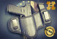Tactical Pancake IWB Gun Holster w/ Mag Holder/Pouch Houston - Choose Model/Size