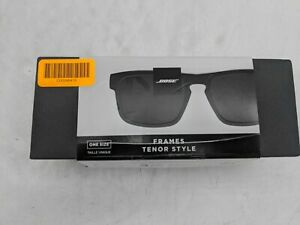Bose Frames Tenor Style- Bluetooth Audio Sunglasses- Black -JD0661