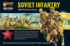 Warlord Bolt Action WWII Soviet Union Soviet Infantry Plastic Box Set Free UKP&P