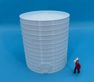 NEW! TALL FUEL TANK or OIL TANK 1 Gauge 1:32 Scale - 8 Sizes AVAILABLE!  White