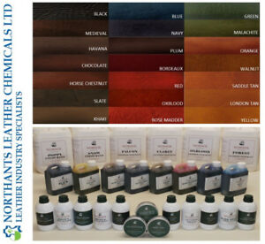 NORSOL Leather Oil Dyes for vegetable tan, stain, dye, Industry Standard Unisol