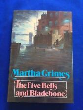 THE FIVE BELLS AND BLADEBONE - FIRST EDITION INSCRIBED BY MARTHA GRIMES