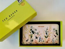 NWT Ted Baker London Serena Elegant Zip Leather Matinee Wallet GIFT BOXED RP$149