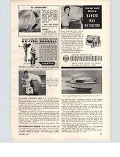 1961 PAPER AD British Seagull Outboard Motor West Bend Tiger Shark Shrimp Boat