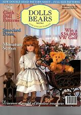 Dolls Bears Collectables magazine - Vol 2 No 4 - patterns