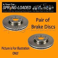 Los Discos de Freno Delantera Para Vauxhall Corsa C Mk2/II 1.7 CDTI (5 Stud Disco) 03-06