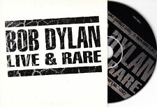 CD CARTONNE CARDSLEEVE COLLECTOR 4T BOB DYLAN LIVE AND RARE DE 2001 RARE
