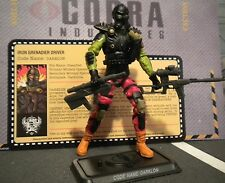 GI JOE ~ 2012 DARKLON ~ CONVENTION EXCLUSIVE ~ JOE CON ~ 100% COMP & FILE CARD