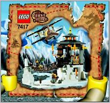 LEGO 7417 - ORIENT EXPEDITION - Temple of the Mountain - INSTRUCTION MANUAL ONLY
