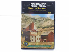 New Sealed DVD - Building The Rio Grande Southern Vol 8 Back To Durango