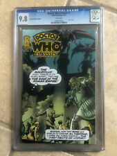 DOCTOR WHO CLASSICS #1 cgc 9.8 IDW Retailer Incentive VARIANT COVER Edition