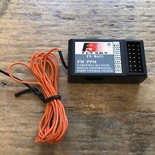 FLY SKY 6-CHANNEL SINGLE CONVERSION RECEIVER 35MHZ FM PPM FS-R635 for Futaba GWS