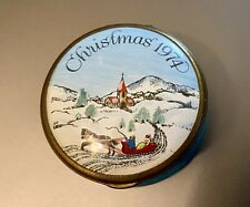 Bilston & Battersea Halcyon Days Christmas 1974 Enamel Box