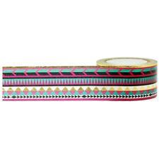 Gold Foil Tribal Washi Tape
