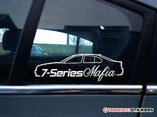 7-Series mafia Silueta Pegatina-Para BMW e65 745i/750i/730d/760i