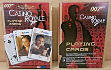 CASINO ROYALE - JAMES BOND 007 POKER SIZE PLAYING CARDS - BRAND NEW SEALED DECK