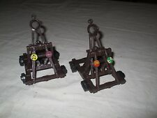 PRESSMAN WEAPONS AND WARRIORS CASTLE SIEGE GAME 2 CATAPULTS (B)