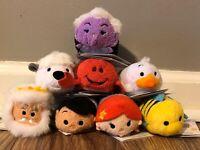 Disney Parks Authentic Tsum Tsum *LITTLE MERMAID* Complete Set of 8 - NWT!!!