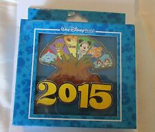 Disney WDW World Jumbo Pin Animal Kingdom Tree of Life Simba Mickey Mouse Pin