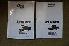 Claas Combine Dominator 38 48 58 68 Service Workshop Repair Manual Book Electric