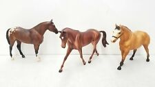 Lot of 3 Assorted Breyer Traditional Size Horses