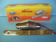 Hot Rod license Plate Light & Bracket  / Rat Rod, Bob Drake