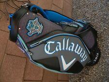 New listing CALLAWAY Gary Player 50th Anniversary 2015 Staff Golf Club Cart Bag - PRISTINE!