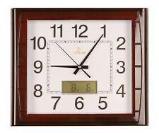 Horloge murale salle de séjour bureau montre numérique affichage sans tic-tac