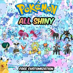 ✨Full Shiny Pokedex Gen 8 | Pokémon Home Pokémon Sword and Shield