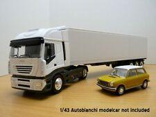 Camion IVECO STRALIS blanc 1/43 Semi Remorque poids lourd