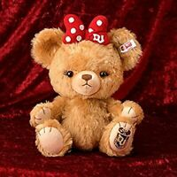 F/S Steiff x Disney UniBEARsity Purin Limited 350 Plush doll Mohair From JAPAN