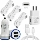 Cell Phone Charger Wall Car Plug USB C Cord Cable for LG Stylo 6 G7 Q7 ThinQ G8