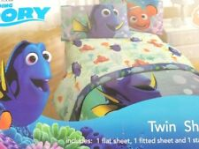 Disney Pixar Finding Dory Super Soft 3 piece Twin Sheet Set