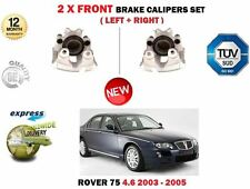 FOR ROVER 75 RJ 260BHP 4.6 V8 2003-2005 2X FRONT LEFT + RIGHT BRAKE CALIPER SET