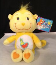 "NEW Playful Heart Monkey Care Bear Cousin 12"" Nanco Plush 2003 W/ Tags"