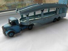 DINKY 982 'BEDFORD PULLMORE CAR TRANSPORTER'. Issued 1958  VINTAGE DINKY TOY