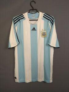 Argentina Jersey 2007 2009 Home MEDIUM Shirt Soccer Adidas ig93