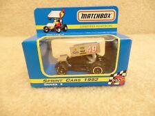 1992 Matchbox Nutmeg 1:64 Scale Diecast Sprint Midget Car Doug Wolfgang Brodix