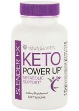 Youngevity Lonestar Keto Power Up 60 capsules Slender FX