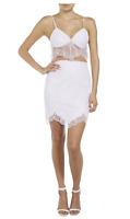 Bardot Ladies Deveaux Lace Skirt sizes 6 10 12 14 Colour Dusk