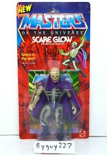 MOTU, Scare Glow, Masters of the Universe, MOC, carded, figure, sealed, He-Man